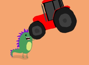 M_Sutherland_Scene 2 Dragon and Tractor_Motion Graphic Prototype